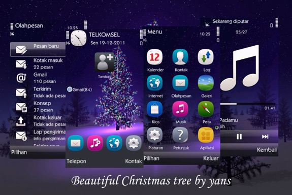 Beautiful christmas tree by yans