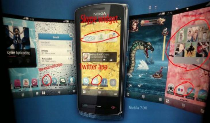 New widget Symbian Belle