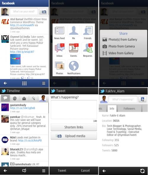 Nokia Social for Belle