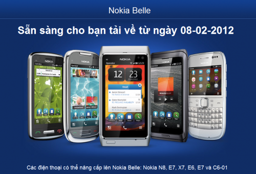 Nokia Belle Update