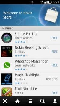 Nokia Store QML