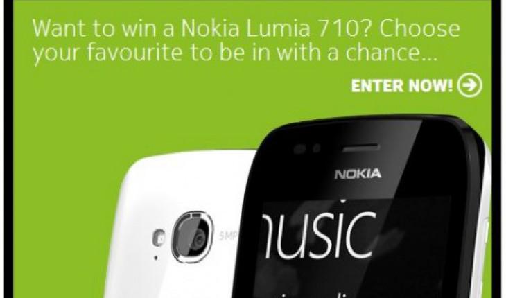 Vinci un Nokia Lumia 710