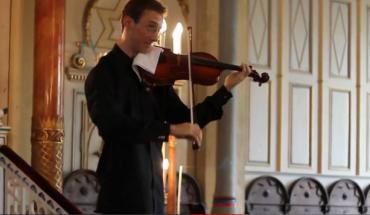 Violinista interrotto