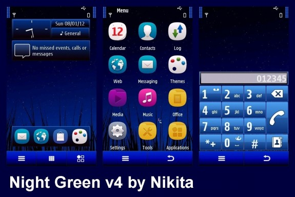 Night Green v4 by Nikita