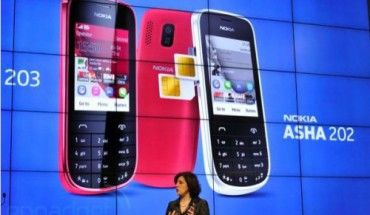 Nokia Asha 202, 203 e 302