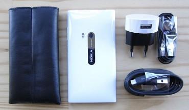 Dotazione Nokia N9 White