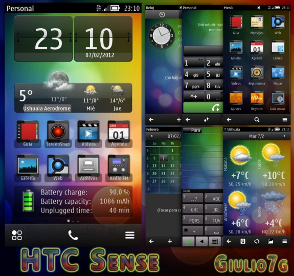 HTC Sense Mask Icons by Giulio7g