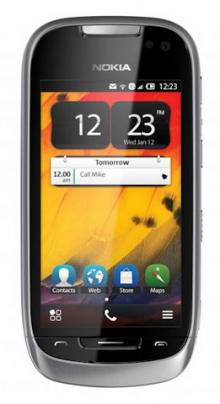 Nokia C7 con Belle