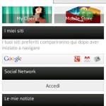 Opera Mini Next 7 - Home Social
