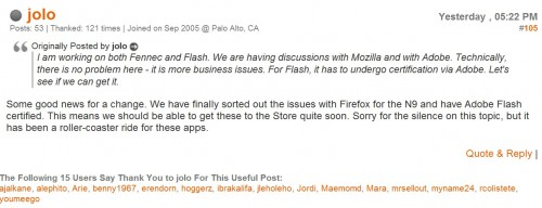 Adobe Flash su Nokia N9