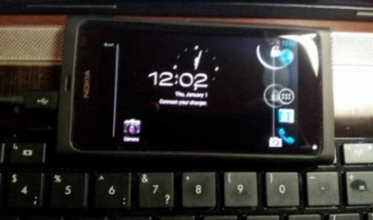 Nokia N9 con Android 4.0