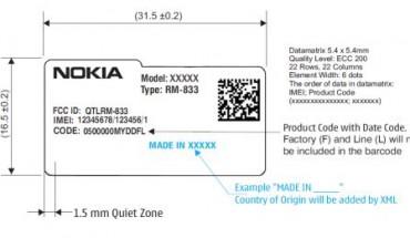 Nokia RM-833