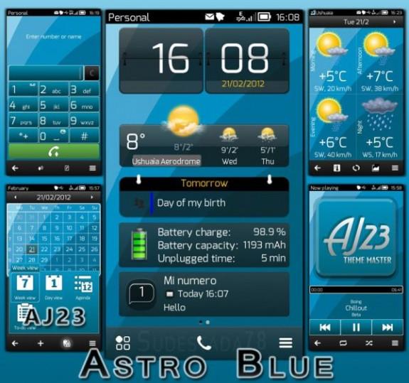 Astro Blue By AJ23