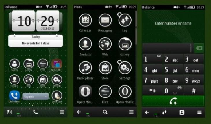 Green Black by Bolena