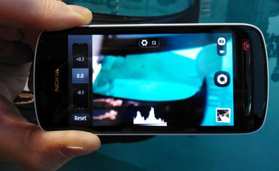 Nokia 808 PureView Istogramma