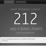 Belle FP1 - Nokia Browser 8.2 HTML5