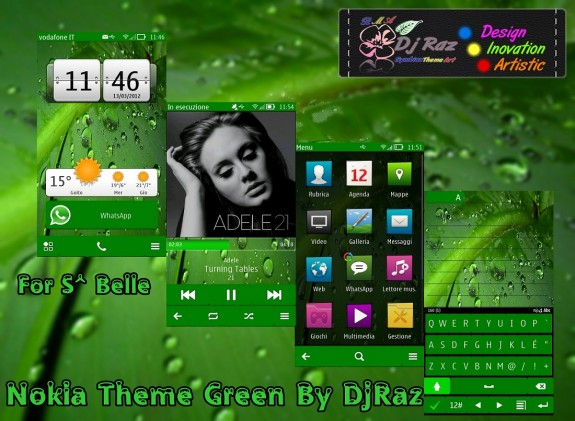 Nokia Green By DjRaz