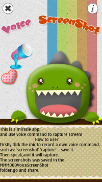 Voice Screen Shot