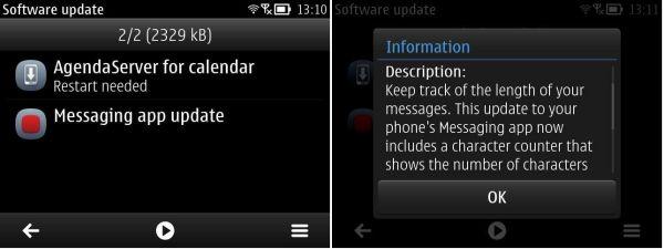 Nokia E6 Updates