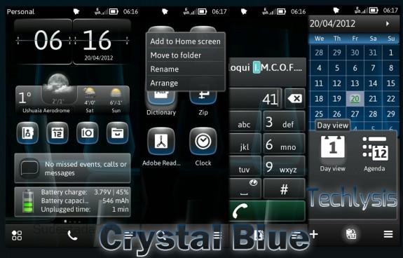 Crystal Blue by Techlysis