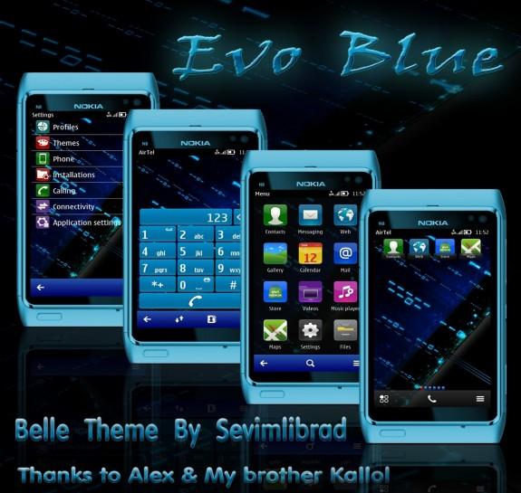 EvoBlue by Sevimlibrad