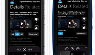 Lumia 800 Lumia 610 codec video