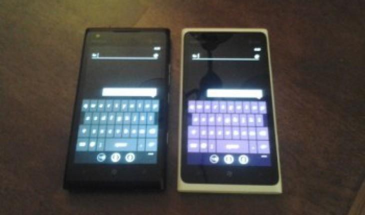 Lumia 900 At&t display viola