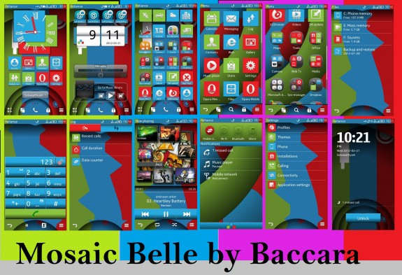 Mosaic Belle by Baccara