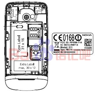 Nokia 311 (RM-714)