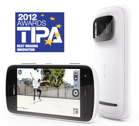 Nokia 808 TIPA Awards