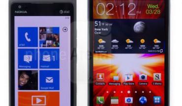 Nokia Lumia 900 vs Samsung Galaxy Note