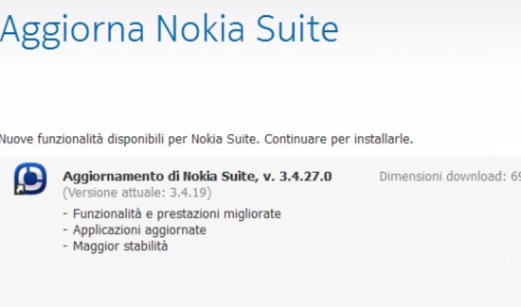 Nokia suite v3.4.27