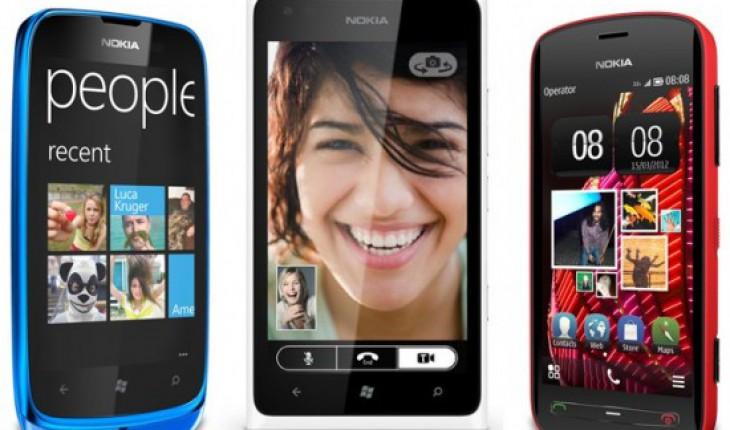 NokiaLumia900 NokiaLumia610 e Nokia808PureView