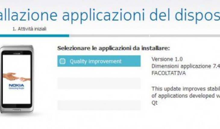 Quality Improvement Update