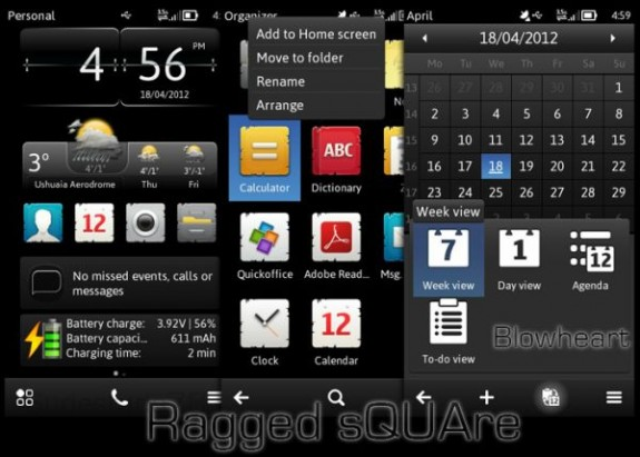 Ragged sQUAre by Blowheart