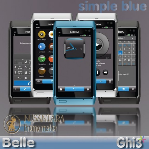 Simple Blue Lite by Ghi3