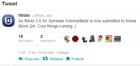 Tweet fMobi 3.0 coming soon