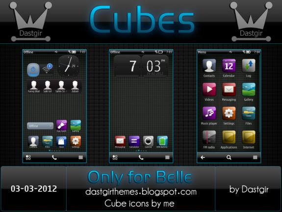 Cubes Belle by Dastgir DI