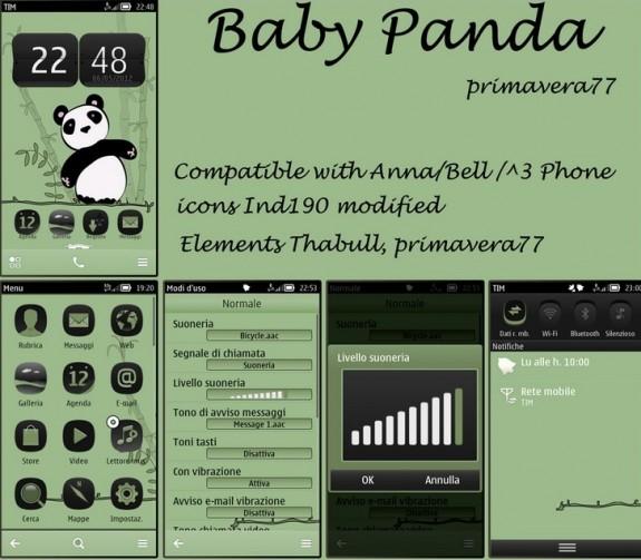 Baby Panda by Primavera77
