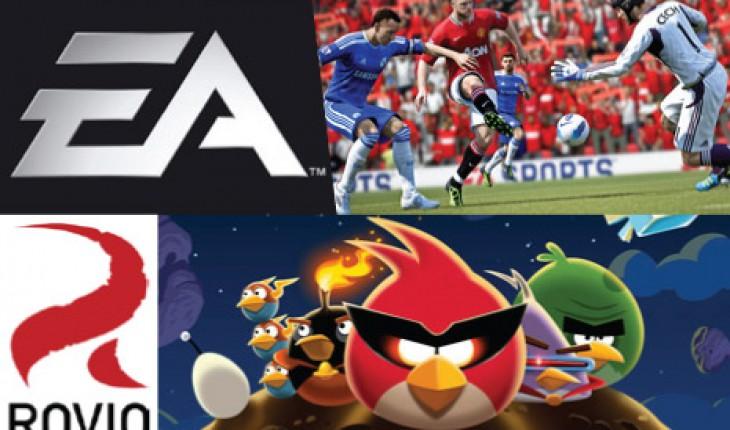 EA Rovio e Nokia