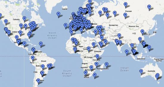 N9 diffusione nel mondo