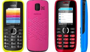 Nokia 110 e Nokia 112