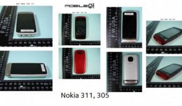 Nokia 311 e Nokia 305
