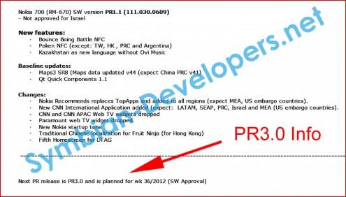 Nokia Belle FP2 leaked