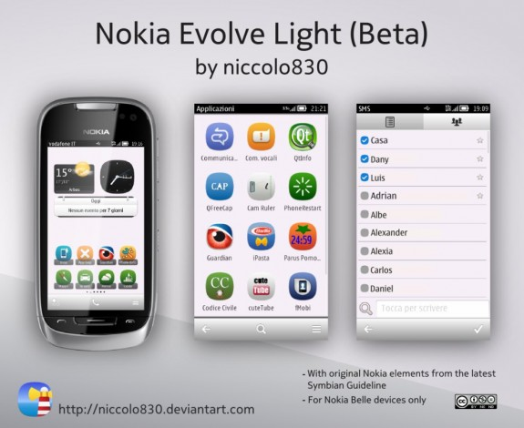 Nokia Evolve Light by Niccolo830
