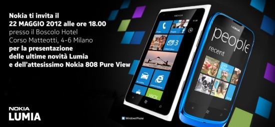 Nokia Italia Evento 22 Maggio 2012