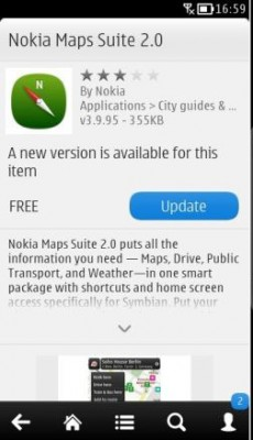 Nokia Maps Suite v2.0 fix update