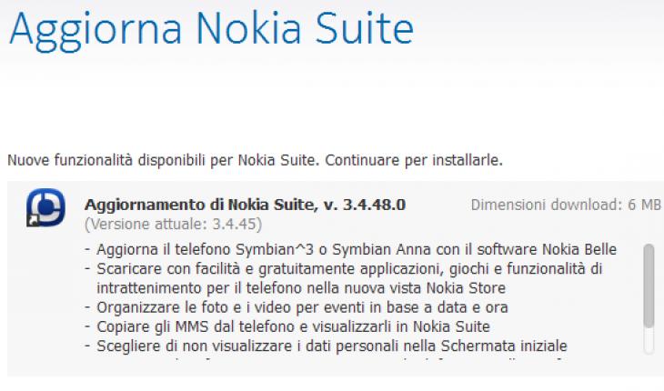Nokia Suite Beta v3.4.48