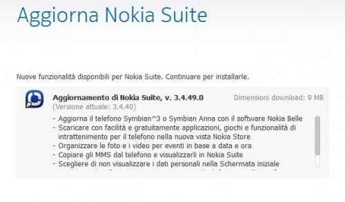 Nokia Suite update 3.4.49