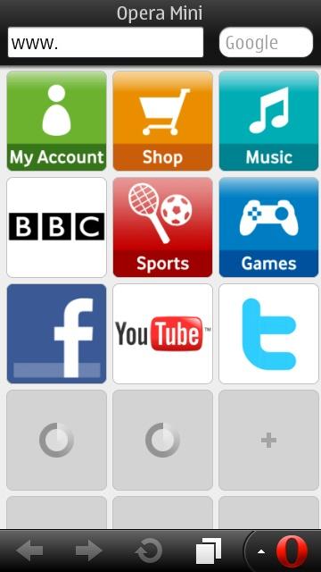 Top Five Download Opera Mini 7 1 For Java - Circus